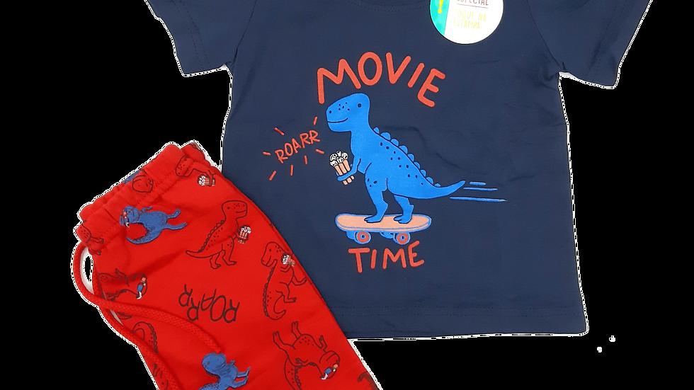 Conjunto camiseta/bermuda Malwee