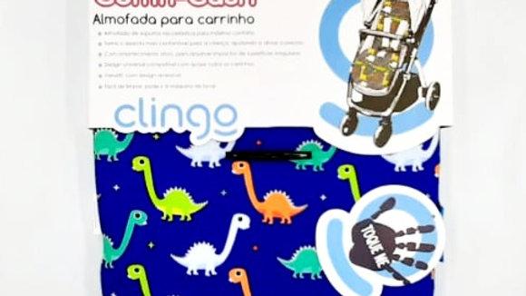 Almofada Para Carrinho Comfi-Cush Dino  - Clingo