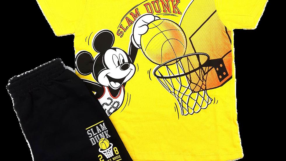 Camiseta e Bermuda Disney