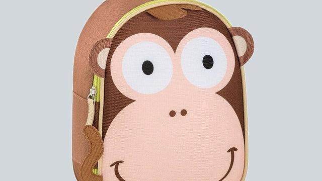 Mochila com Guia para Passeio Macaco -Multikids Baby