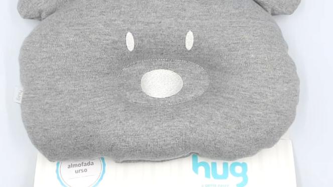 Almofada para cabeça urso Hug