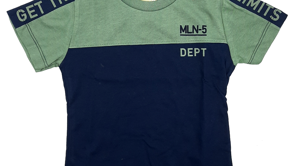 Camiseta masculino verde bambu Milon