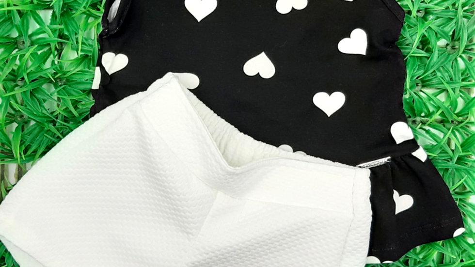 Conjunto cotton preto reativo Alakazoo