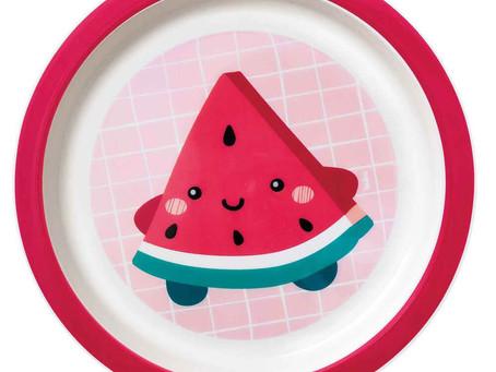 A Hora de comer pode ficar mais divertida com a linha de refeição da Buba !