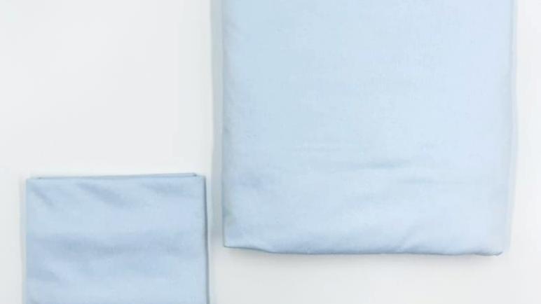 Jogo de lençol para berço com elástico 2 peças linha tradicional Babyleo