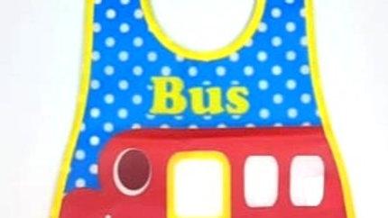 Babador impermeável ônibus