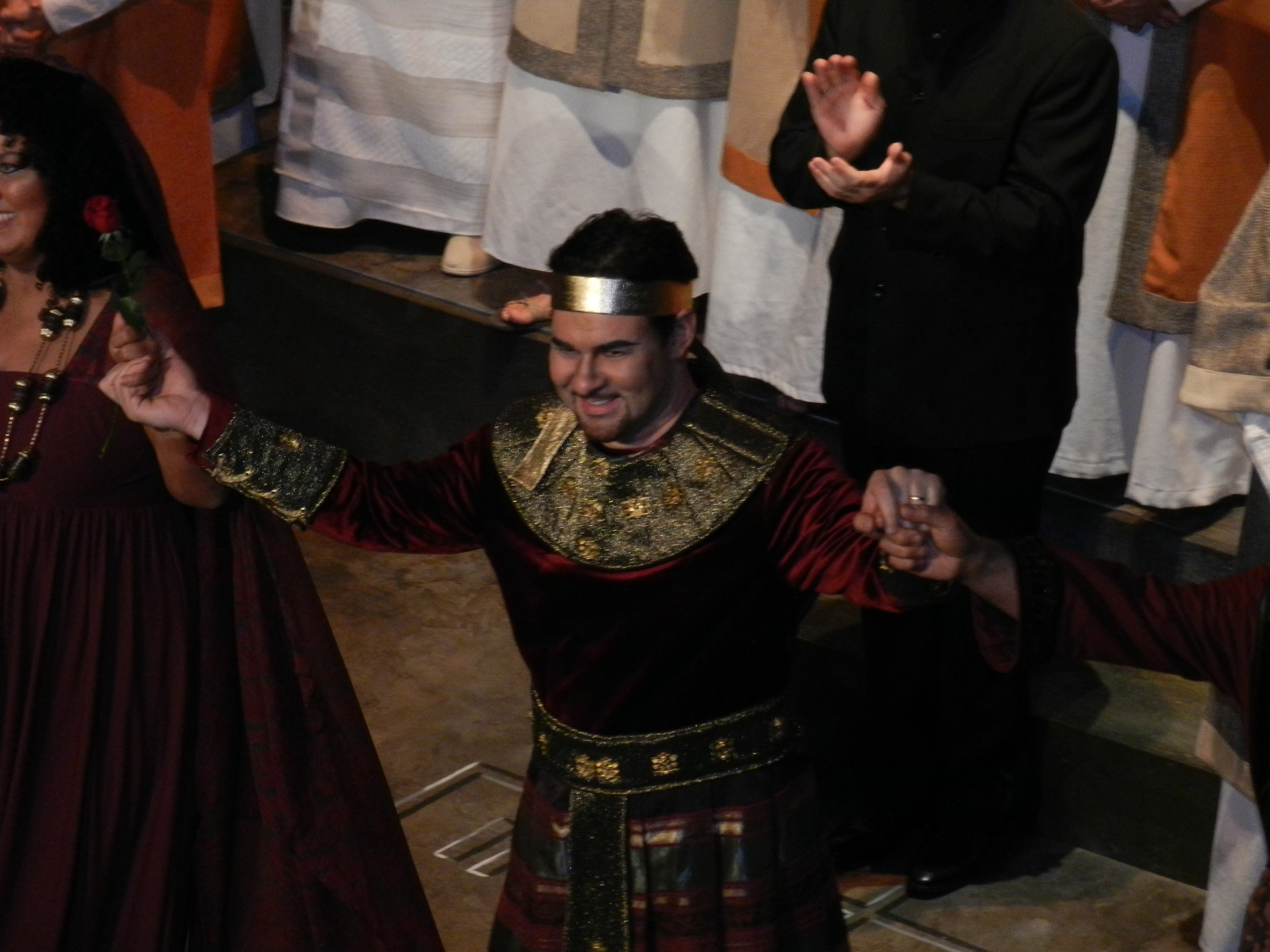 Radames applause