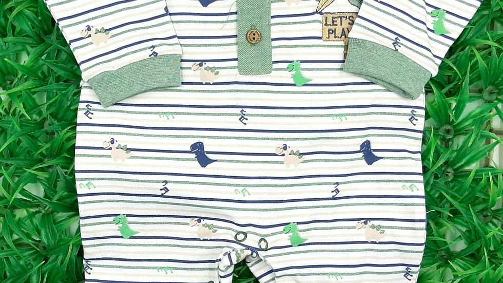 Macacão Cotton Masculino Anjos Baby