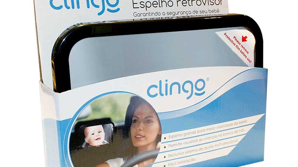 Espelho Retrovisor Retangular Clingo