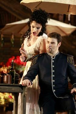 con Elina Garanca in Carmen