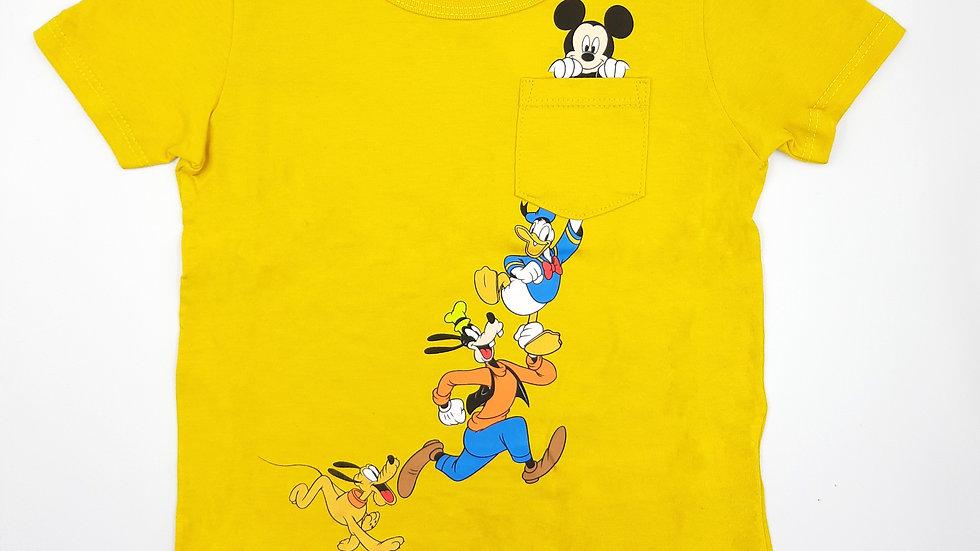 Camiseta amarelo Disney Cativa