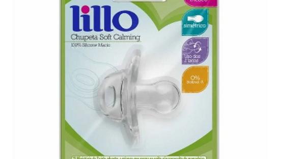 Chupeta soft 100% silicone Lillo 6+