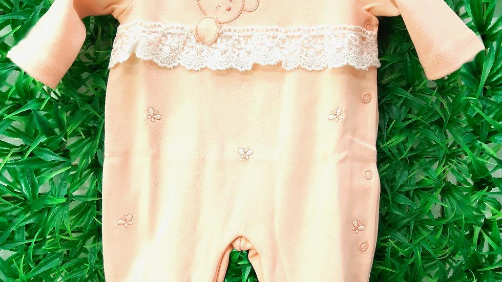 Macacão borboletinhas Baby Fashion