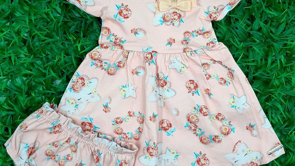 Conjunto vestido/calcinha Carinhoso