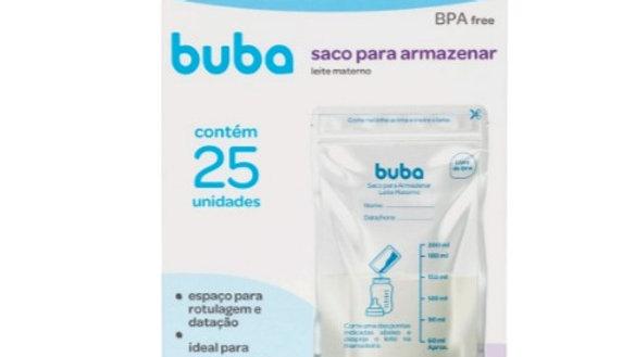 Saco para armazenar leite materno Buba