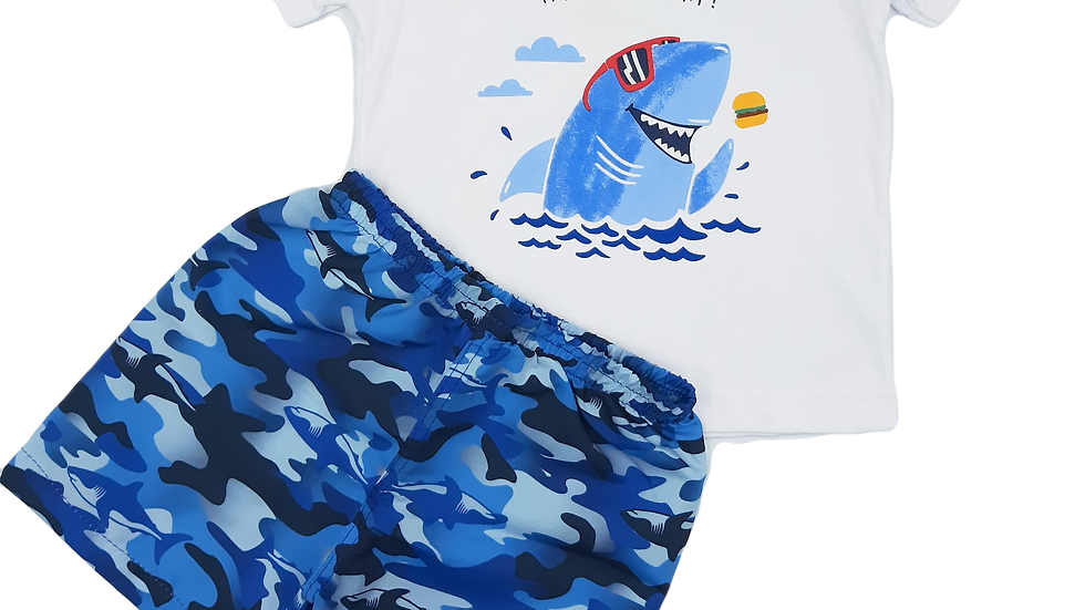 Conjunto camisa/bermuda Malwee