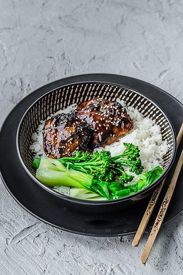 Teriyaki Chicken & Greens