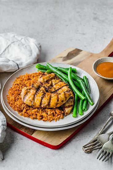 Peri Peri Chicken & Tomato Rice