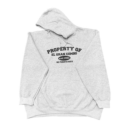 Property of El Gran Combo de PR, Hoodies Gris