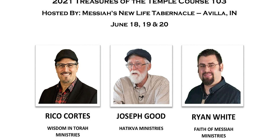 TREASURES OF THE TEMPLE CONFERENCE 103