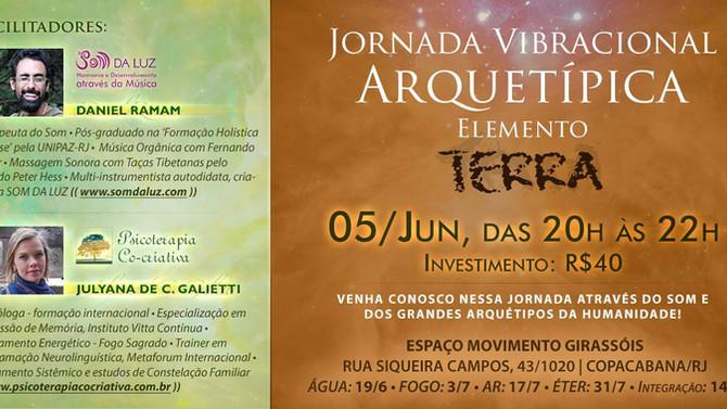 Jornada Vibracional Arquetípica - Elemento Terra