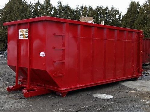 Conteneur 40 verges (matériaux secs) 14 jours et 5 tonnes inclus