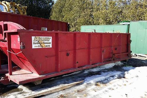 Conteneur 20 verges (matériaux secs) 14 jours et 2.5 tonnes inclus