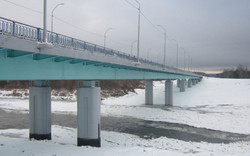 Новый мост через р. Сура