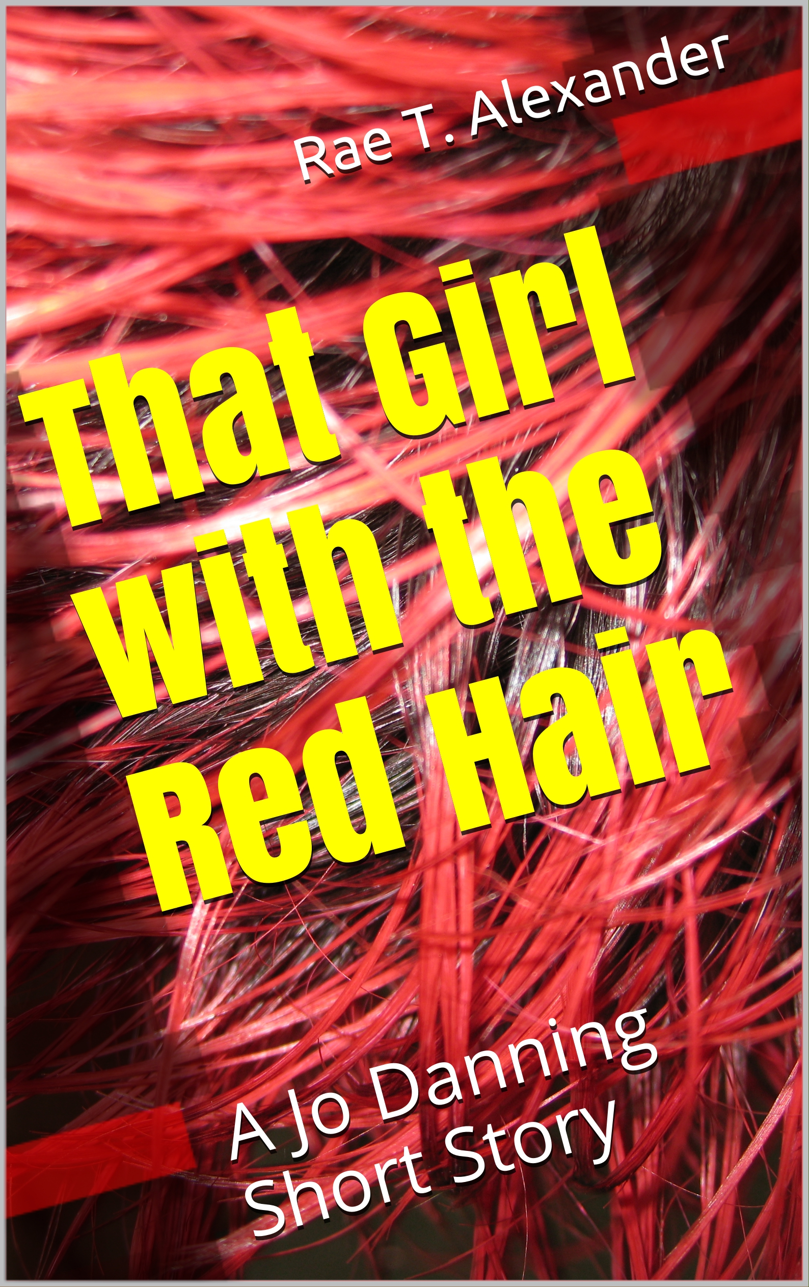 that girl with the red hair print