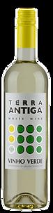 Bottle of wine, quintas de megaço terra antiga vinho verde winery