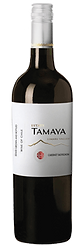 Bottle of wine, tamaya estate cabernet sauvignon winery