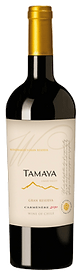 Bottle of wine, tamaya winemaker's gran reserva cremenere