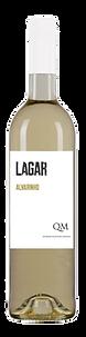 Bottle of wine, quintas de melgaço lagar winery