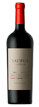 Bottle of wine, saurus barrel fermented malbec schroeder winery