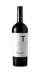 Bottle of wine, tamaya T carmenere winery