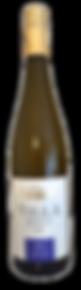 Bottle of wine, romherhof villa riesling spatlese winery