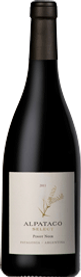 Bottle of wine, Alpataco select pinot noir schroeder winery