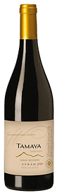 Bottle of wine, Tamaya winemaker's gran reserva syrah