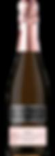 Bottle of sparkling wine, champagne, deseado rose , schroeder winery
