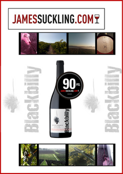 Blackbilly - Old Vine Grenache - 90 points!