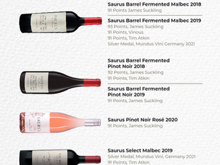 Newest Ranking for Familia Schroeder Wines - Patagonia, Argentina