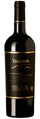 Bottle of wine, tamaya reserva malbec cabernet sauvignon syrah blend  winery
