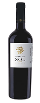 Bottle of wine, tierra del sol reserva blend