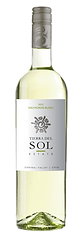 Bottle of wine, tierra del sol estate sauvignon blanc