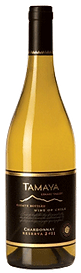 Bottle of wine, tamaya reserva chardonnay winery