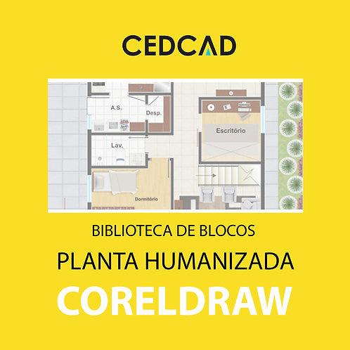 Blocos Planta Humanizada CorelDraw