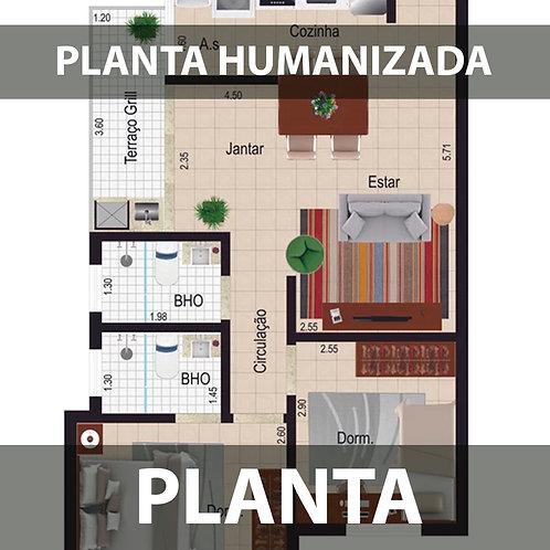 PLANTA HUMANIZADA
