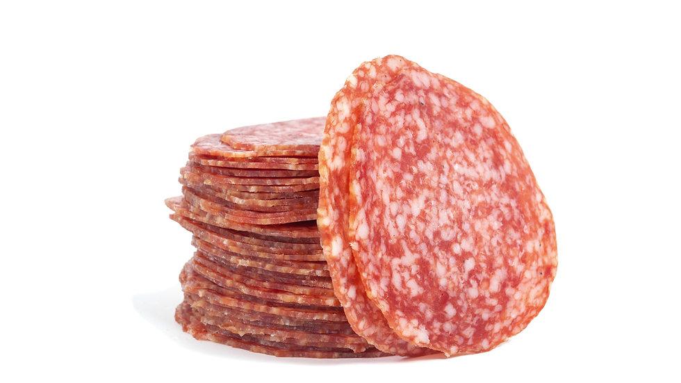 Milano Salami - freshly sliced