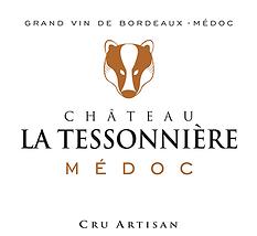 Logo carré du château de La Tessonnière