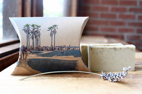 Venice Beach Skateboarder Lavender Soap
